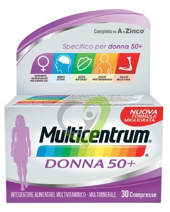 Multicentrum Donna 50+ Integratore - 30 compresse