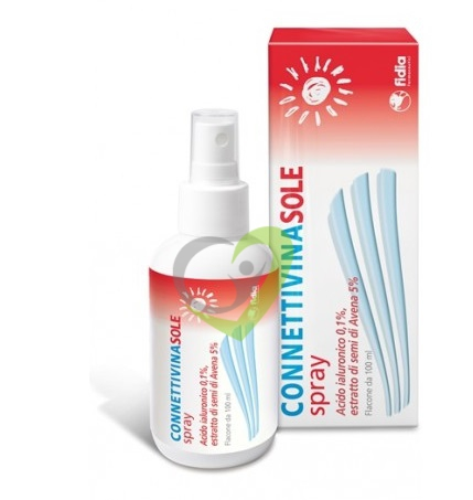 CONNETTIVINA SOLE SPRAY acido ialuronico ed Avena 100ml
