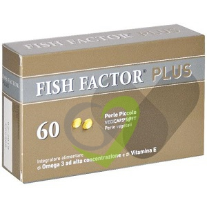 Fish Factor Plus Integratore - 60 perle piccole