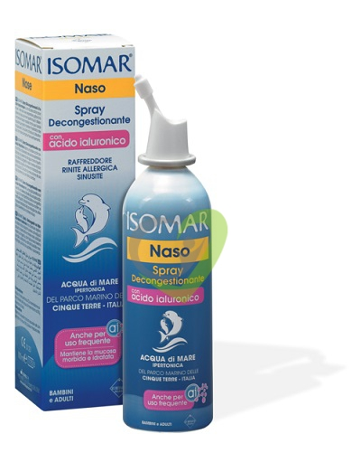 Isomar Naso Spray Decongestionante con Acido Ialuronico - 100 ml
