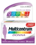 Multicentrum Donna Integratore Alimentare 30 Compresse