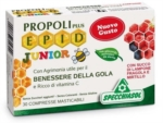 EPID Propoli Plus Junior 30 compresse aroma Lampone Fragola e Mirtillo