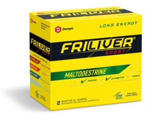 Friliver Sport Long Energy Integratore - 8 Bustine