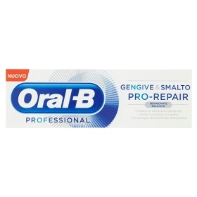 Oral B Professional  Dentifricio Gengive e Smalto Pro Repair Sbiancante - 85 ml