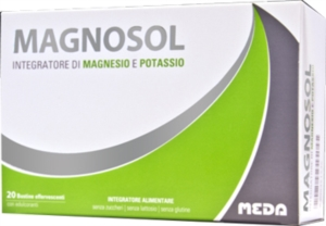 Meda Pharma Magnosol 20 Bustine + Shopper