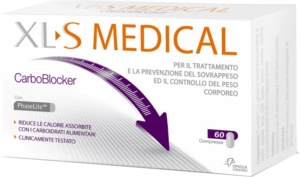 XLS Medical CarboBlocker Integratore - 60 Compresse