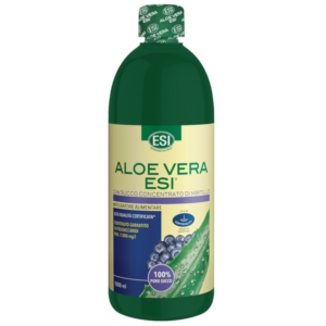 Esi Aloe Vera Succo con Mirtillo - 1000 ml
