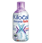 Kilocal Drenante Forte Gusto Mirtillo Integratore 500 ml