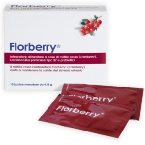 Florberry Integratore alimentare - 10 Bustine