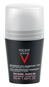 Vichy Homme Deodorante Anti Traspirante Roll On 72h - 50 ml