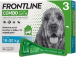 Frontline Combo Spot On Cani M 10 20 kg 3 pipette