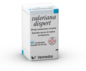 Valeriana Dispert 45 Mg Compresse Rivestite 60 Compresse