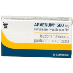 Arvenum 500 500 Mg Compresse Rivestite Con Film 30 Compresse
